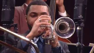 "Portrait of Louis Armstrong - Wynton Marsalis & The Young Stars of Jazz at ""Jazz in Marciac"" 2016"