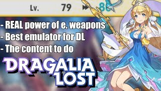 LEVEL 80! Dragalia Lost - A Few Things I've Learned