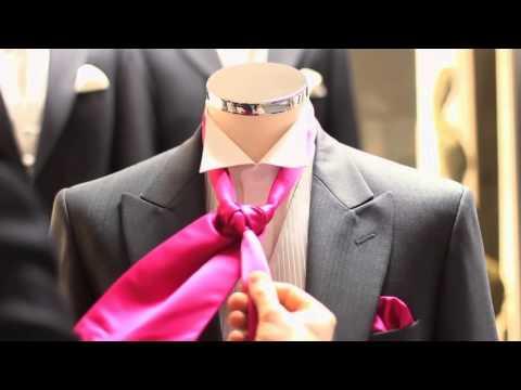 How to Tie a Cravat - tie a craavt - craavt