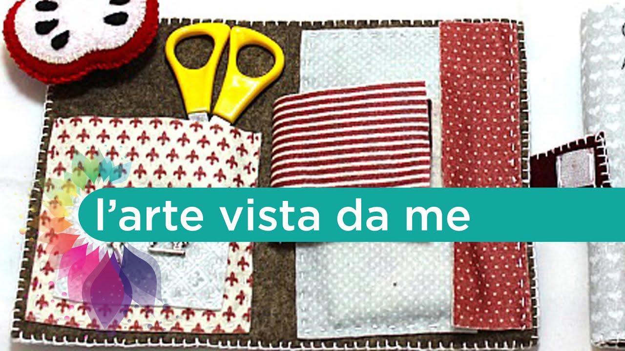 Tutorial kit cucito in feltro con puntaspilli diy sewing for Oggetti da creare in casa