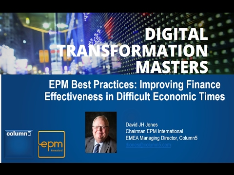 EPM Best Practices: Improving Finance Effectiveness in Difficult Economic Times