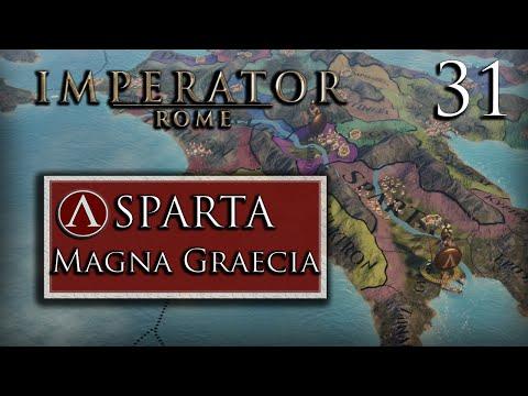 The Coast is MINE! – Sparta Ironman – 1.4 – Magna Graecia – Archimedes – Imperator: Rome – Part  1