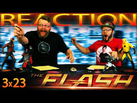 "The Flash 3x23 FINALE REACTION!! ""Finish Line"""