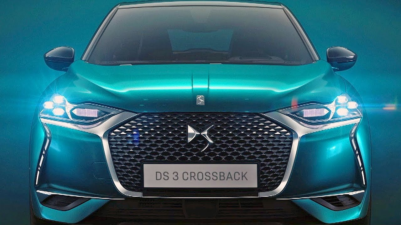 ds3 crossback 2019 the best french suv youtube. Black Bedroom Furniture Sets. Home Design Ideas