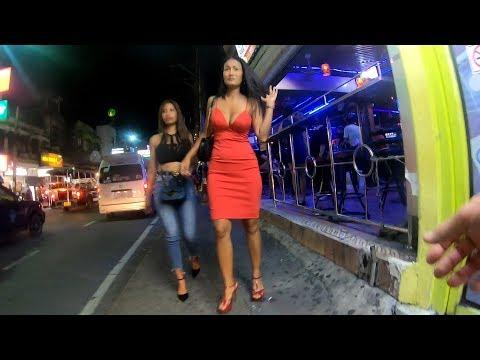 Pattaya Nighlife 2019, Soi 15 To Walking Street & Soi Diana