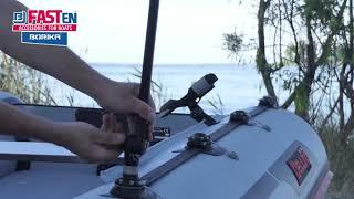 Видео-обзор штатива / держателя Borika FASTen Ng600 для экшн камер (GoPro) на лодку - Аква Крузер