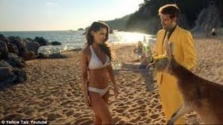Ellie Gonsalves stars in Yellow Tail SuperBowl ad