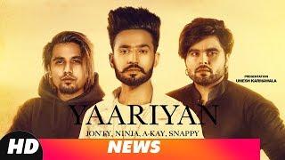 News   Yaariyan   Jonty   Ninja   A Kay   Snappy   Shehnaz Gill   Releasing On 27th Sept 18