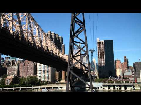 Roosevelt Island Tramway in New York City