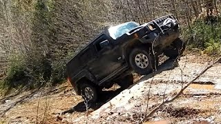 Hummer H3 Off-Road 4x4 on Muddy Hills