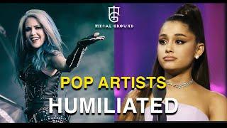 Pop Singers VS Metal Singers