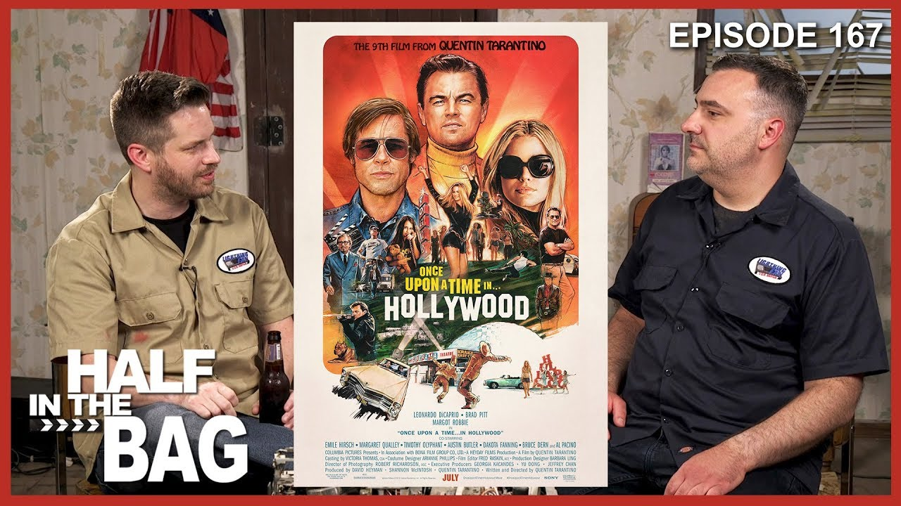 RLM: Half in the Bag: Once Upon a Time in Hollywood