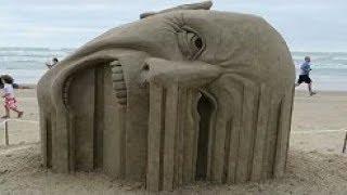 30 Cele Mai Epice Sculpturi In Nisip