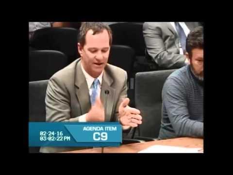 California State Board of Equalization Hearing 2-24-2016