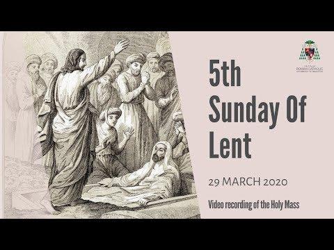 Catholic Sunday Mass Online (with Sign Language) - 5th Sunday of Lent