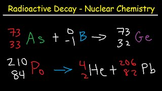 nuclear chemical equations