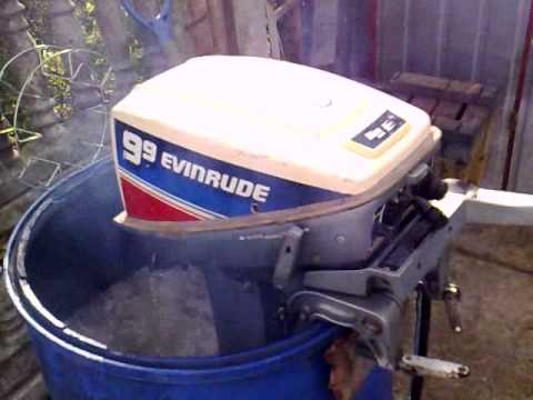 Evinrude 9 9 Hp Outboard Motor 2 Stroke Dwusuw Youtube