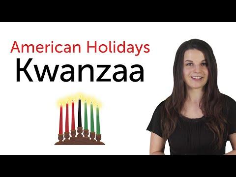American Holidays - Kwanzaa