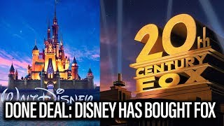 Disney Has Officially Bought Fox