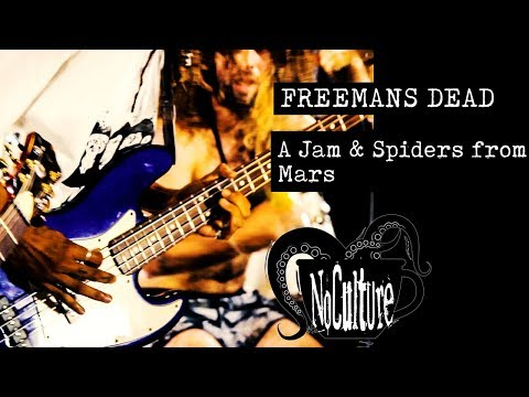 Freemans Dead - A Jam & Spiders from Mars | Live @ No culture