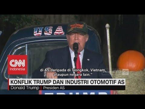 Trump Tegaskan Ford Produksi Di Amerika Serikat Bukan Di Tiongkok