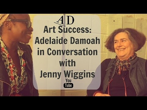 Art Discussion: Adelaide Damoah in Conversation with Jenny Wiggins