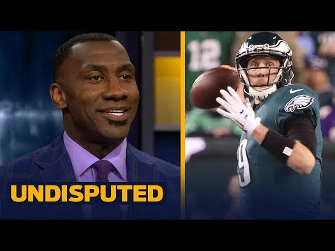 Skip and Shannon react to the Eagles' 38-7 win over the Vikings in the NFC Championship | UNDISPUTED