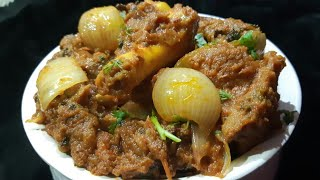 Mutton do pyaza in pressure cooker l easy n delicious mutton do pyaza