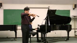 Brahms Violin Sonata in A Major, Op. 100, II. Andante tranquillo - Vivace