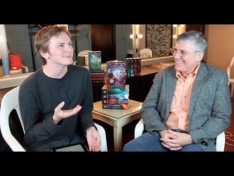 AN INTERVIEW FROM OLYMPUS | Rick Riordan & tiernanbe