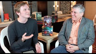 AN INTERVIEW FROM OLYMPUS | Rick Riordan & tiernanbe
