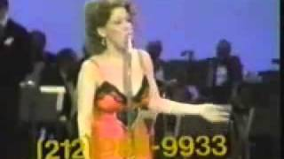 BETTE MIDLER - singing 'friends'  (UJA Theleton 1973).