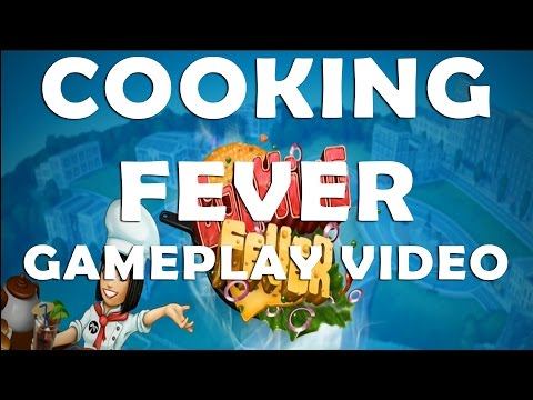 Cooking Fever Android Gameplay Video Levels 1 to 4 🍔🌭🍴 thumbnail