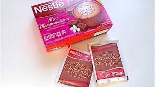 iHerb: Nestle Hot Cocoa Mix, Mini Marshmallows, Rich Milk Chocolate (Горячее Какао) - Видео обзор