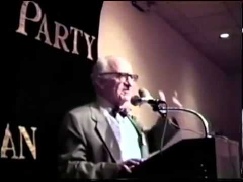 Rothbard Speaks About The Nixon Administration Spying on Libertarians.