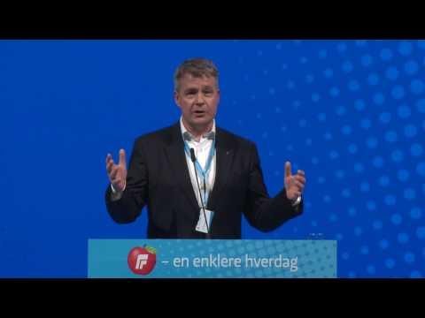 Per Willy Amundsen tale fredag   FRP´s Landsmøte 2017