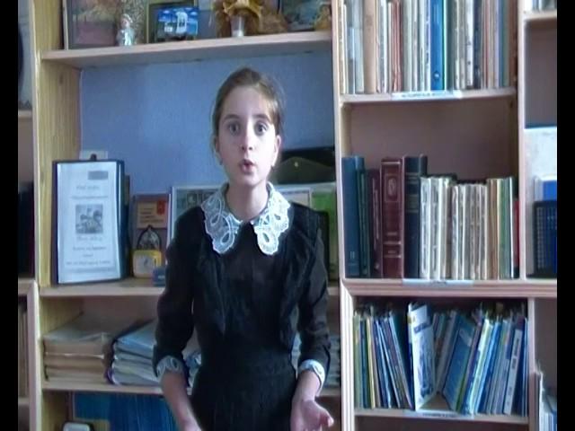 Изображение предпросмотра прочтения – ДианаСалиева читает произведение «Свинья под дубом» И.А.Крылова