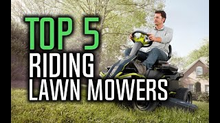 Best Riding Lawn Mowers in 2018 - Which Is The Best Lawn Mower? | 10BestOnes