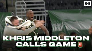 Khris Middleton Drains OT Game-Winner To Beat Miami Heat In Game 1