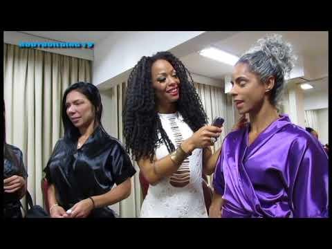 Mr Minas 2017, entrevistas com Adriana Alves