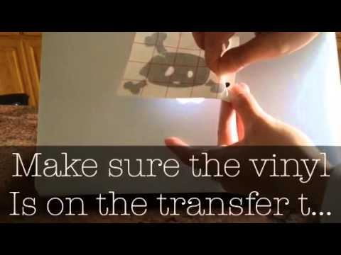 How To Apply A Vinyl Sticker On Transfer Tape YouTube - Transfer tape for vinyl decals