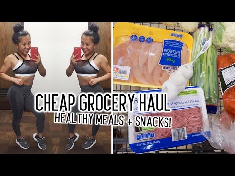 Cheap HEALTHY Grocery Haul | The Bigger The Better Ep  1