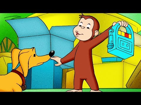 Curious George 🐵Scaredy Dog 🐵Kids Cartoon 🐵Kids Movies 🐵Videos for Kids