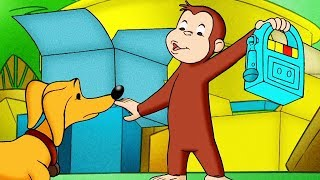 Curious George Scaredy Dog Kids Cartoon Kids Movies Videos for Kids