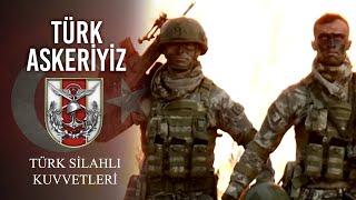 Vatanıma göz dikip kılıç çekilmedikçe, Kılıç çekmeyen Türk askeriyiz