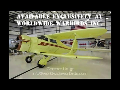 1944 Beech Staggerwing FOR SALE!