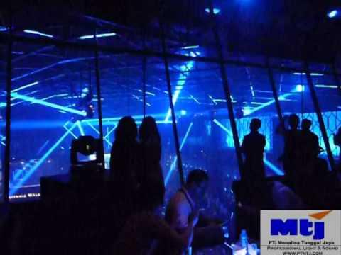 MADRIX DVI with AZTEC LED RGB Digital Tube - X2 Club Jakarta