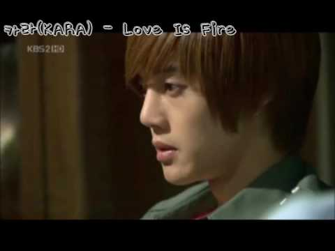 꽃보다 남자 MV - Love Is Fire (KARA/카라)