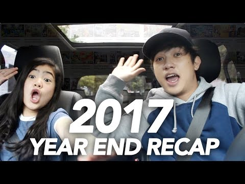 A ROADTRIP TO OUR 2017 (YEAR END RECAP) | Ranz and...