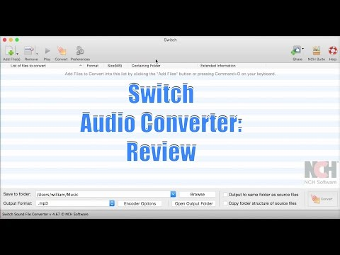 Switch Plus Batch Audio Converter: Review